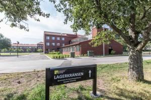 Gästforskarlägenheter i tidigare limnologiska institutionens hus, kvarteret Lagerträdet.