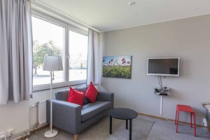 Norbyvägen, Lagerkransen, Living room