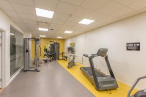 Klostergatan 16, Gym