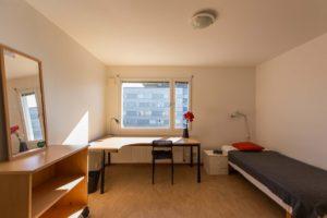Flogsta, Sernandersväg, student room