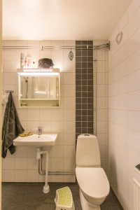 Villavägen 1, Bathroom