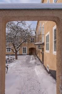 Rackarbergsgatan, exterior, winter
